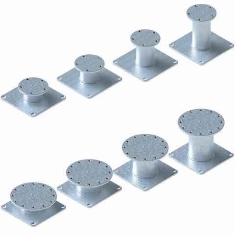Quante-Design Fußplatten