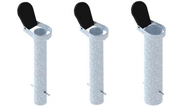 GLATZ Bodenhülsen-Systeme ST, BT, PX (für Kleinschirme)