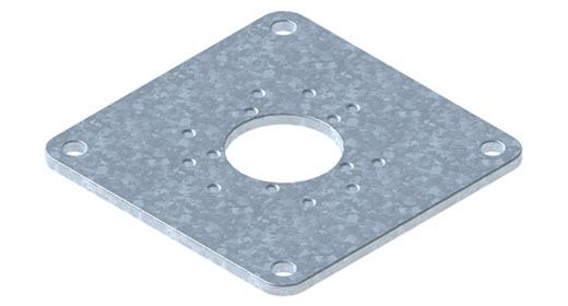 GLATZ Montageplatten