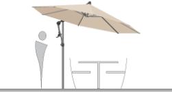 glatz ampelschirme glatz sonnenschirm shop. Black Bedroom Furniture Sets. Home Design Ideas