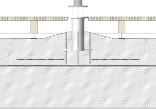 quante design bodenh lse flex glatz sonnenschirm shop. Black Bedroom Furniture Sets. Home Design Ideas