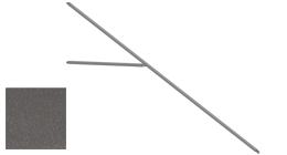 Streben komplett, graphitgrau