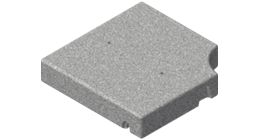 Beton-Elemente, Sockelplatten / Gartenplatten