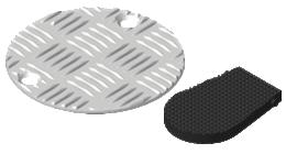Deckel für Bodenhülsen