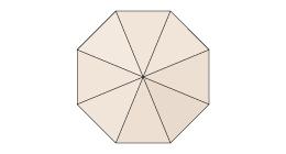 für runde 8-teilige Schirme